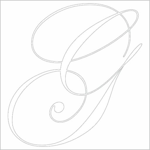 Samolepka Písmeno G