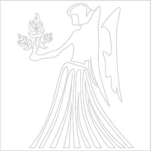 Samolepka horoskop Panna - zvìtšit obrázek