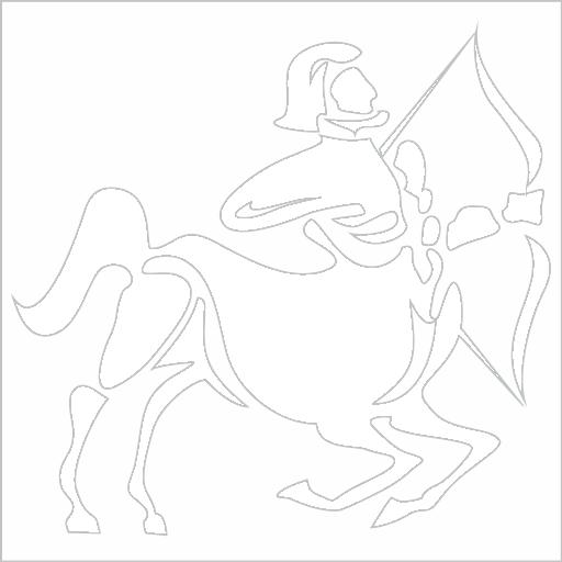 Samolepka horoskop Støelec - zvìtšit obrázek
