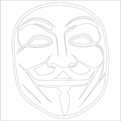 Samolepka Maska - zvìtšit obrázek