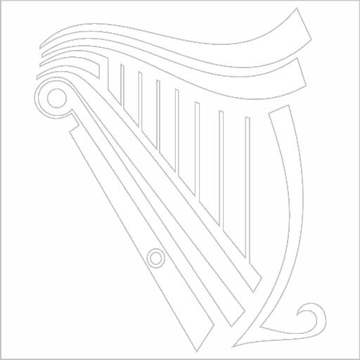 Samolepka Harfa