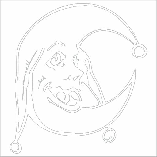 Samolepka Mìsíc - zvìtšit obrázek