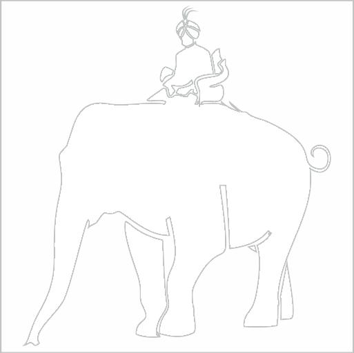 Samolepka Maharadža - zvìtšit obrázek
