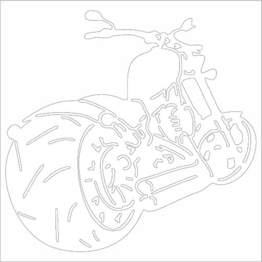Samolepka Chopper - zvìtšit obrázek