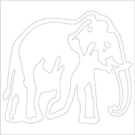 Samolepka Slon - zvìtšit obrázek