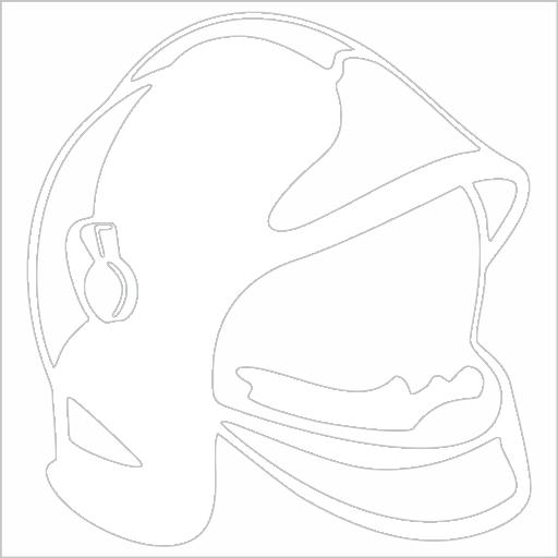 Samolepka Hasièská helma