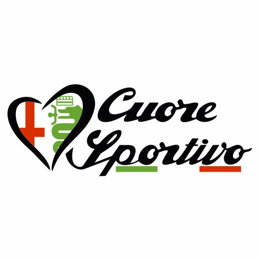Samolepka Cuore Sportivo - zvìtšit obrázek
