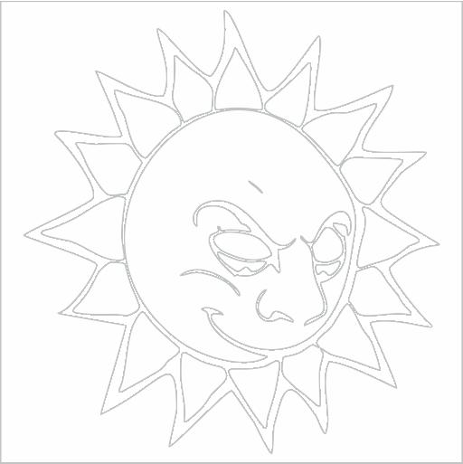 Samolepka Slunce - zvìtšit obrázek