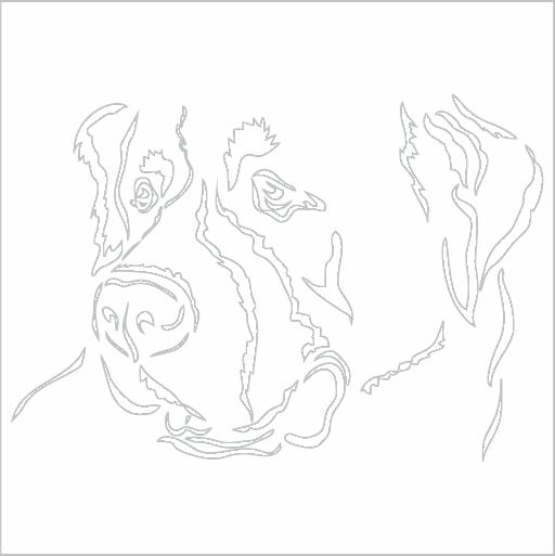 Samolepka Bernardýn - zvìtšit obrázek