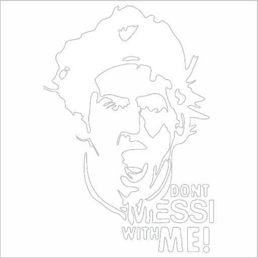 Samolepka Lionel Messi - zvìtšit obrázek