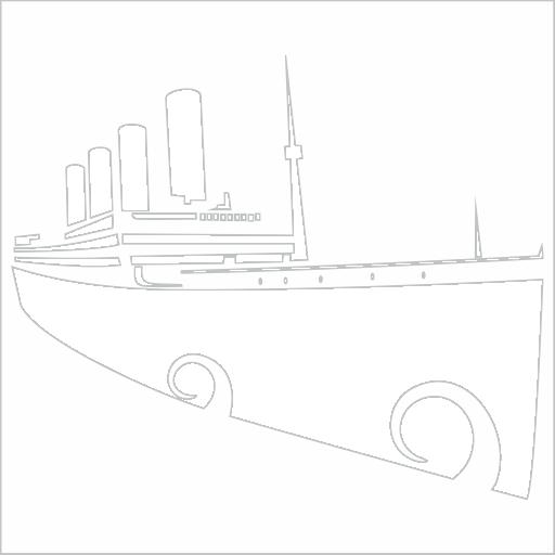 Samolepka Titanic