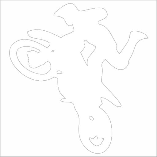 Samolepka Free style motocross