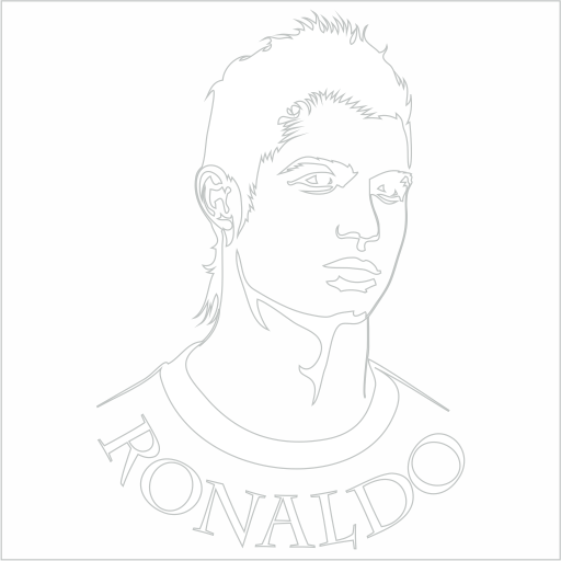 Samolepka Cristiano Ronaldo