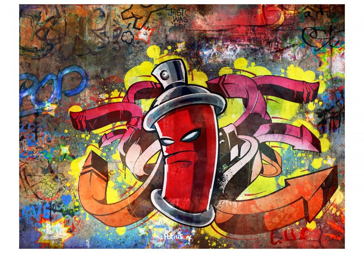 Dìtská fototapeta Graffiti