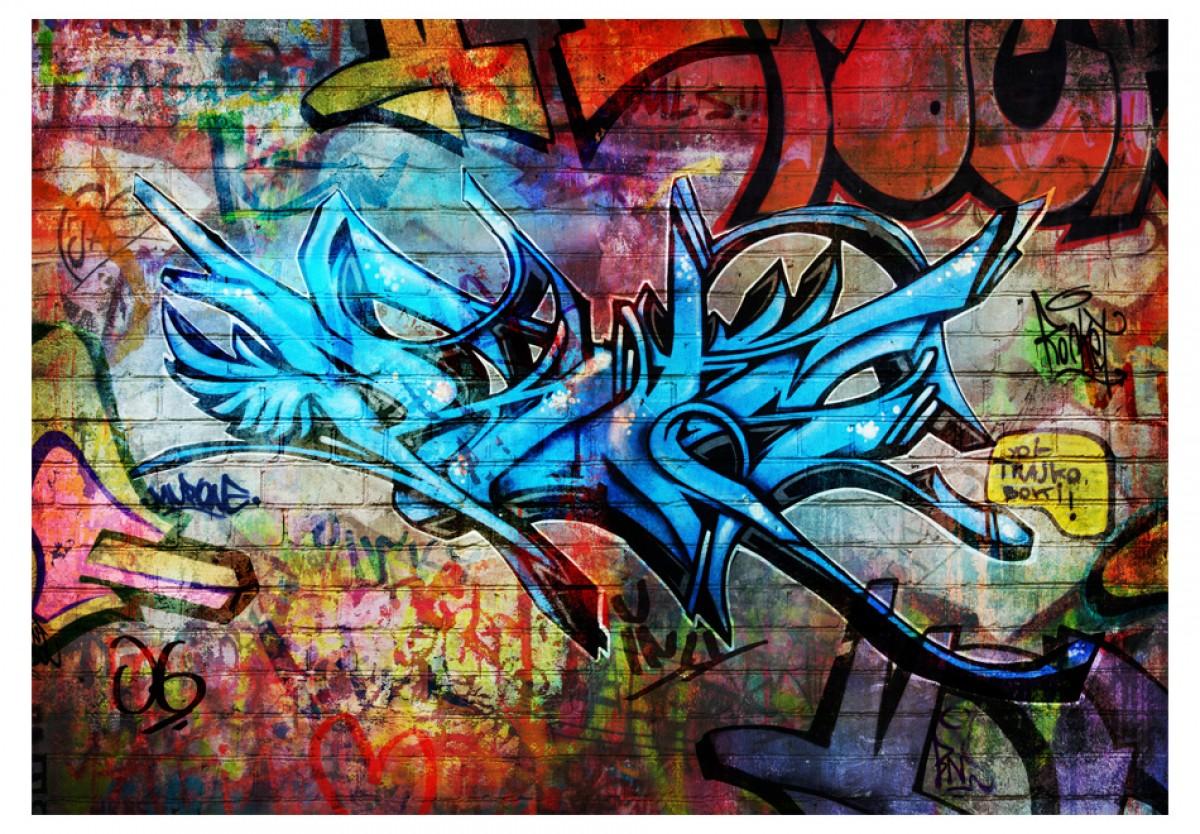 Dìtská fototapeta Graffiti 2 - zvìtšit obrázek