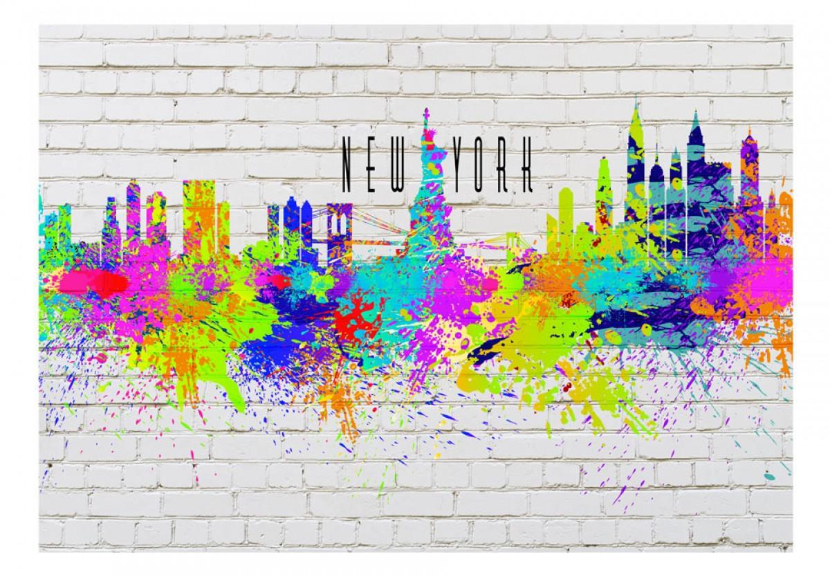 Dìtská fototapeta Barvy New Yorku