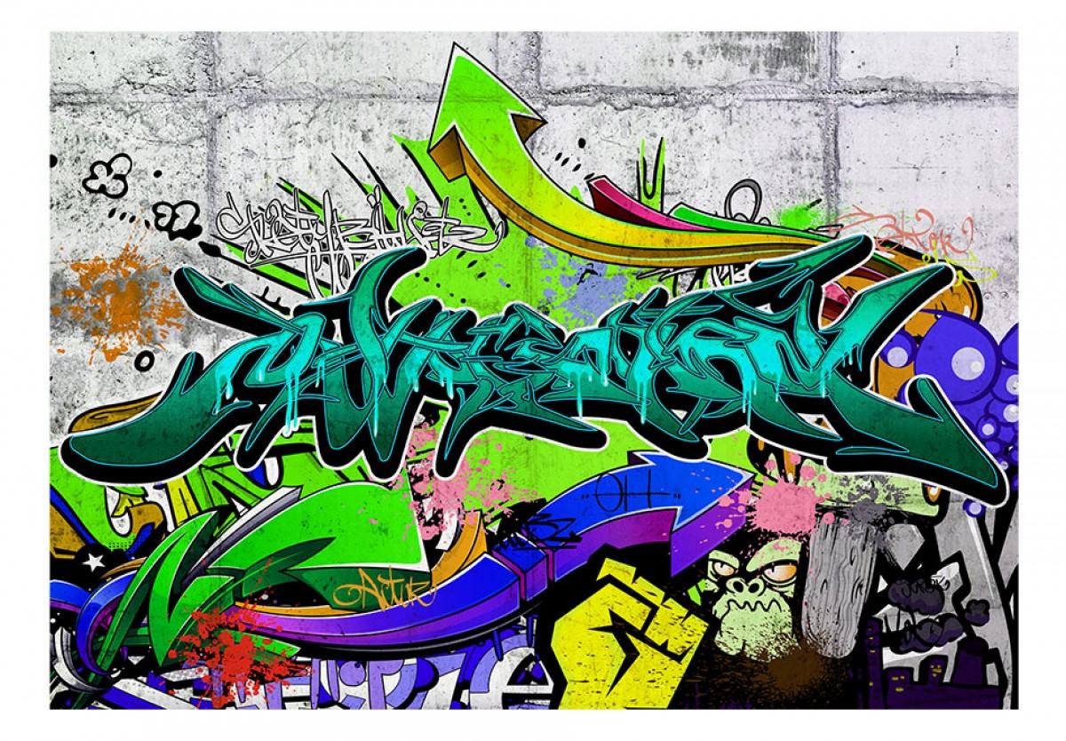 Dìtská fototapeta Moderní graffiti