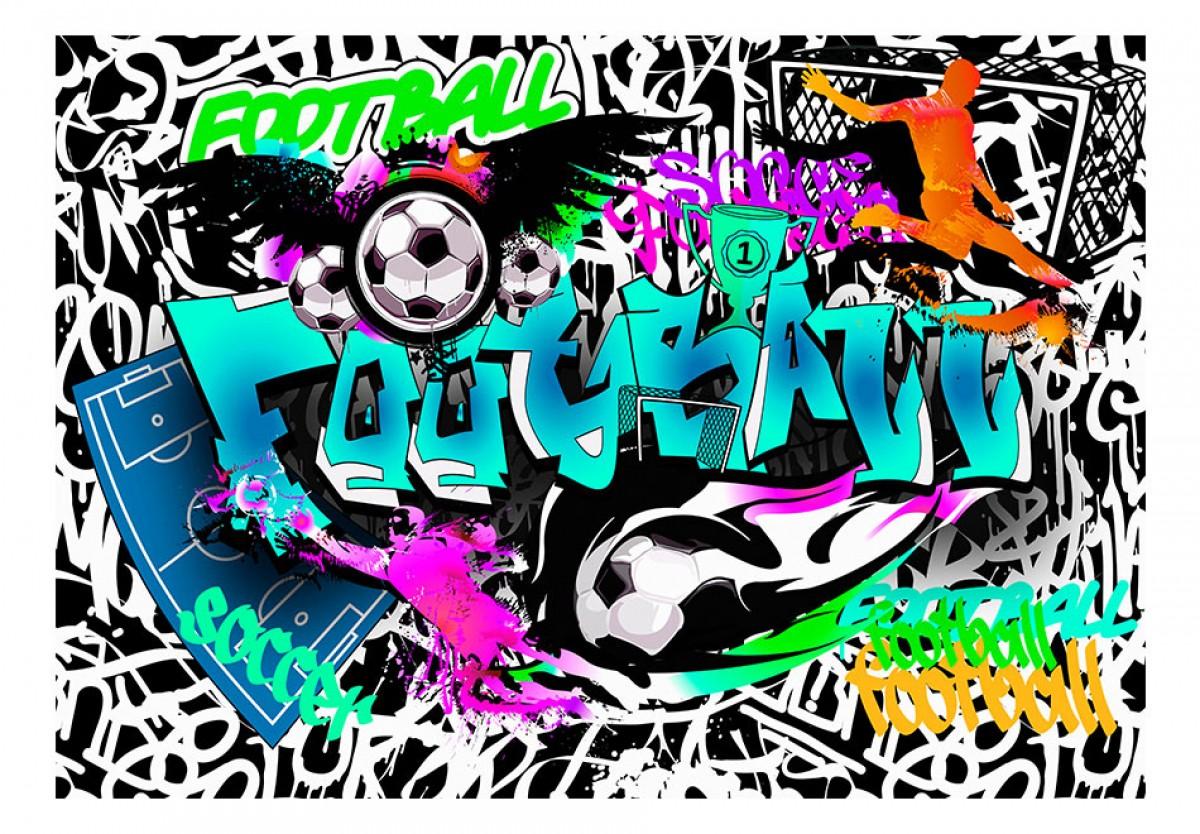 Dìtská fototapeta Sportovní graffiti