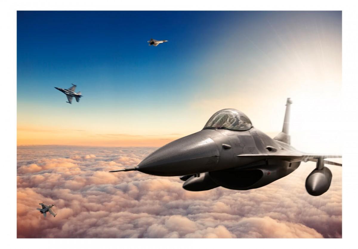 Dìtská fototapeta Stíhaèka F16 - zvìtšit obrázek