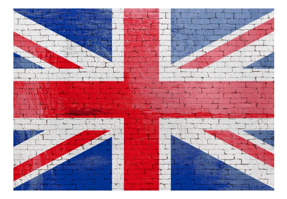 Dìtská fototapeta Britská vlajka - zvìtšit obrázek