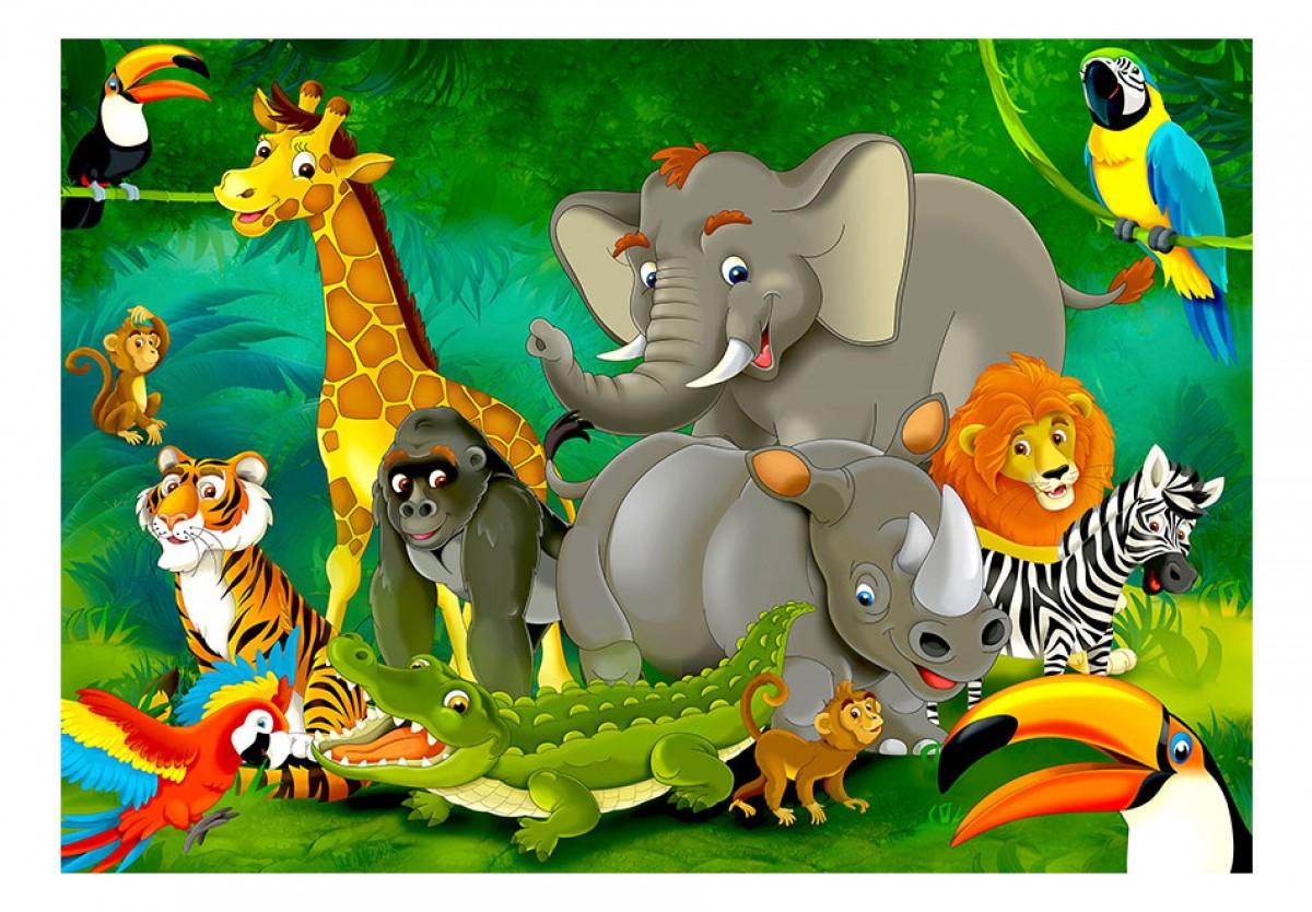 Dìtská fototapeta Safari
