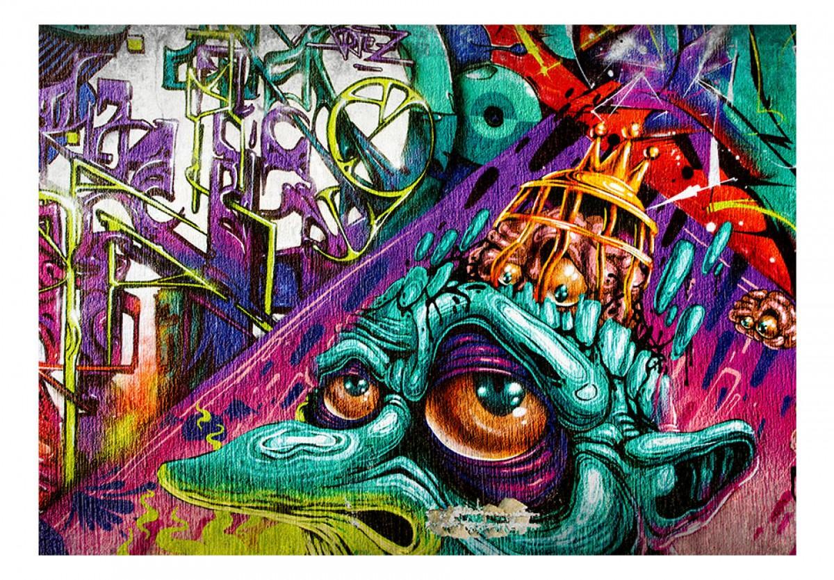Dìtská fototapeta Graffiti zombie