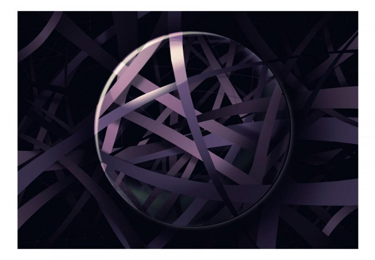 3D tapeta Fialová hmota