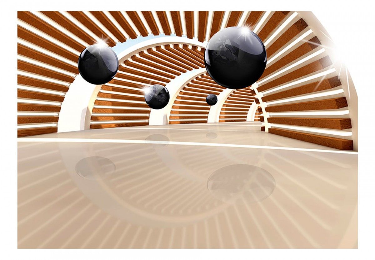 3D tapeta Cesta tunelem 2 - zvìtšit obrázek