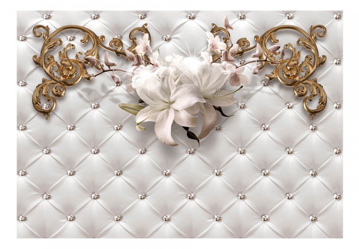 3D tapeta Noblesní lilie - zvìtšit obrázek