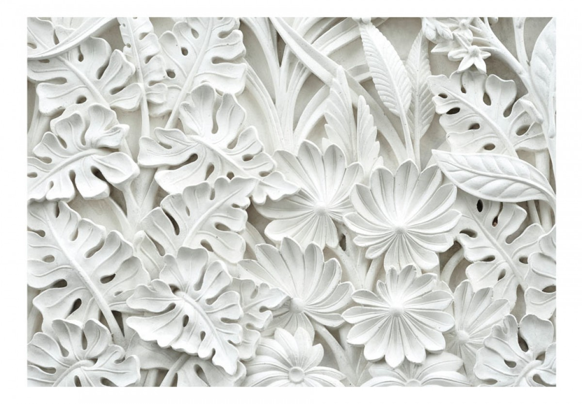 3D tapeta Zahrada z alabastru