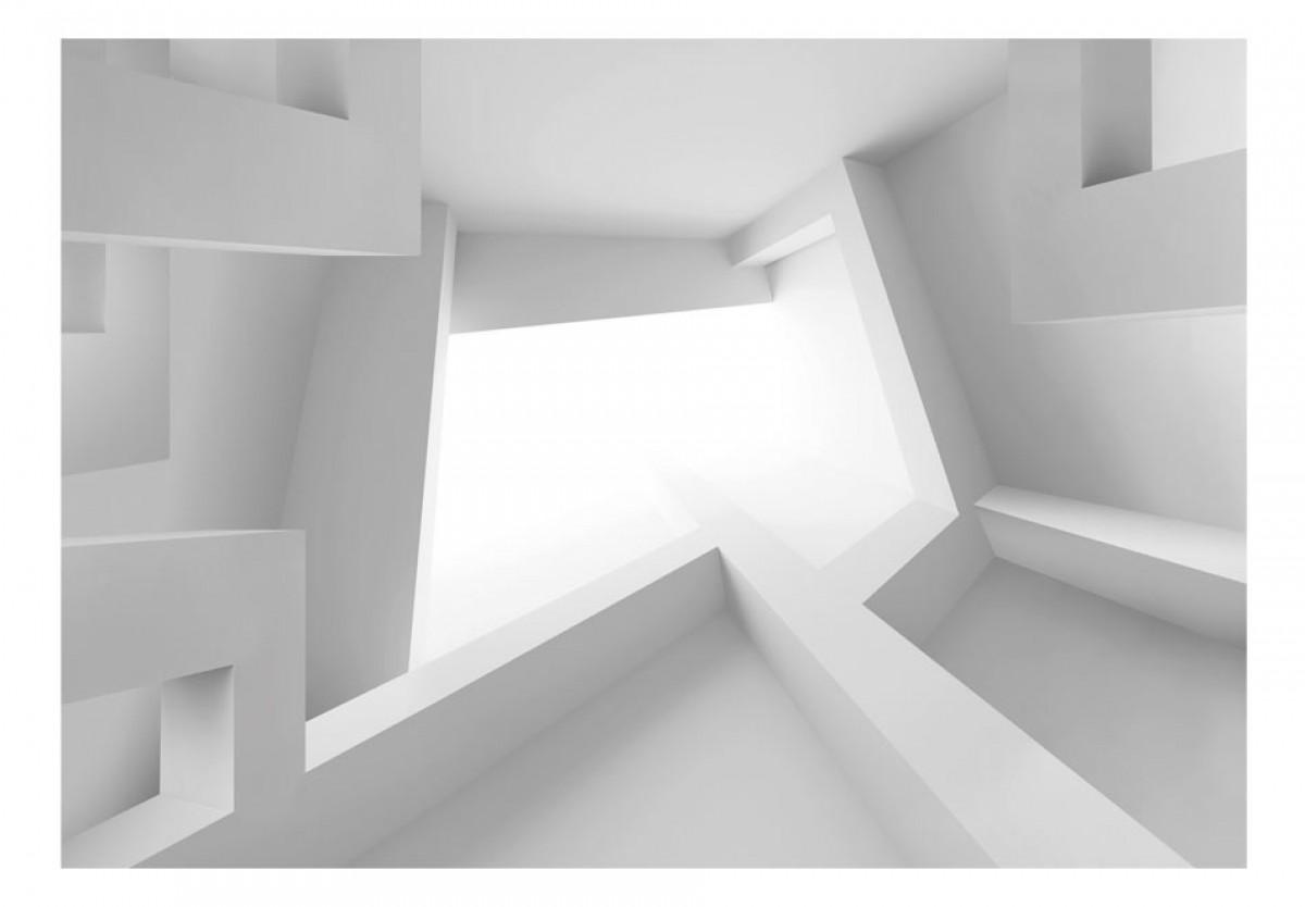 3D tapeta Bílá