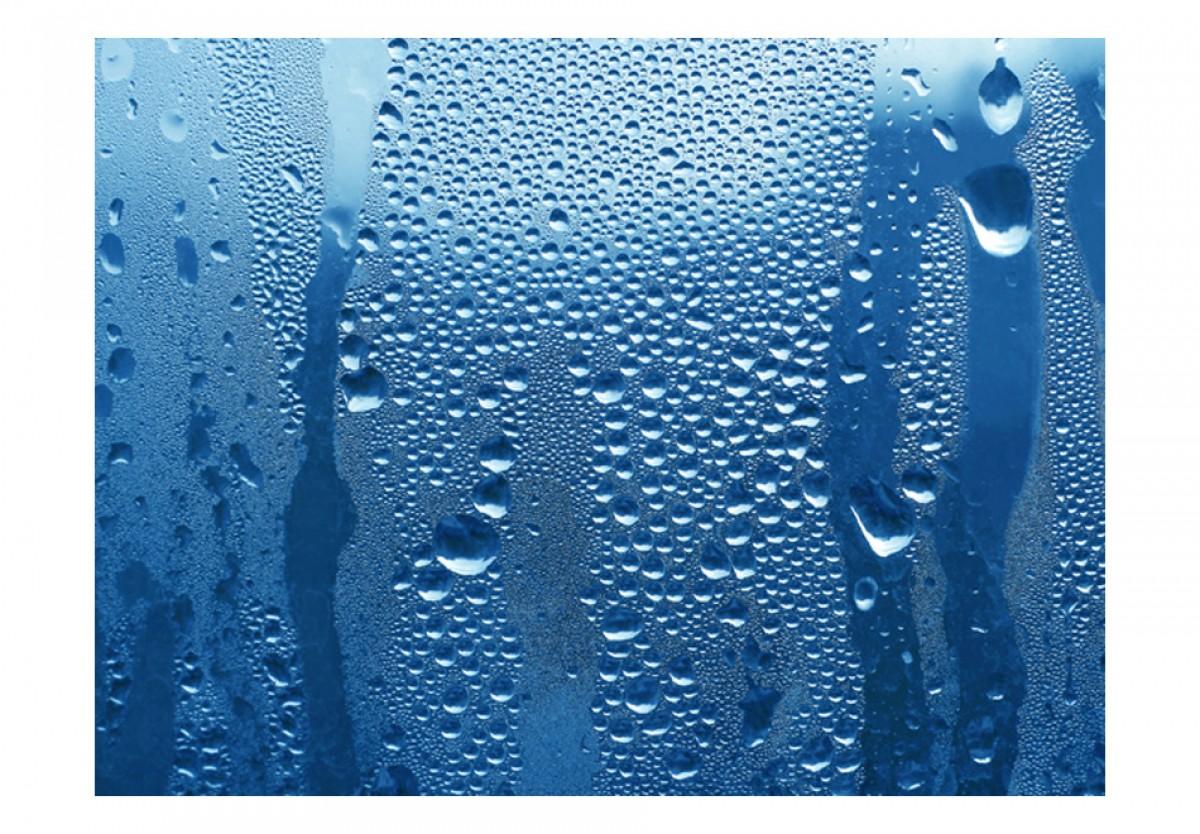 3D tapeta Voda na skle - zvìtšit obrázek