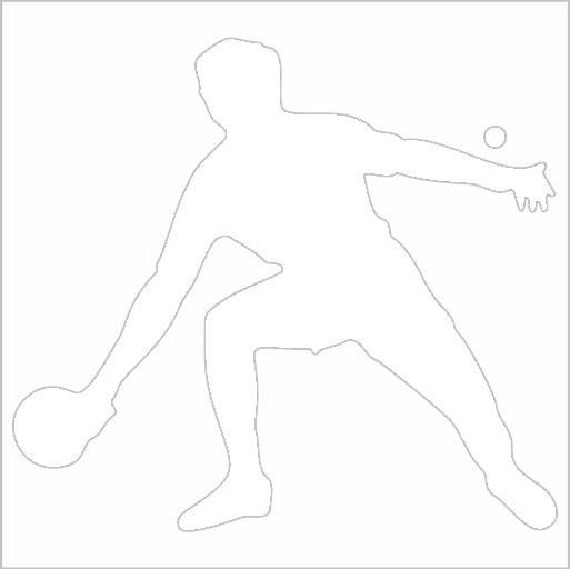 Samolepka Ping Pong - zvìtšit obrázek