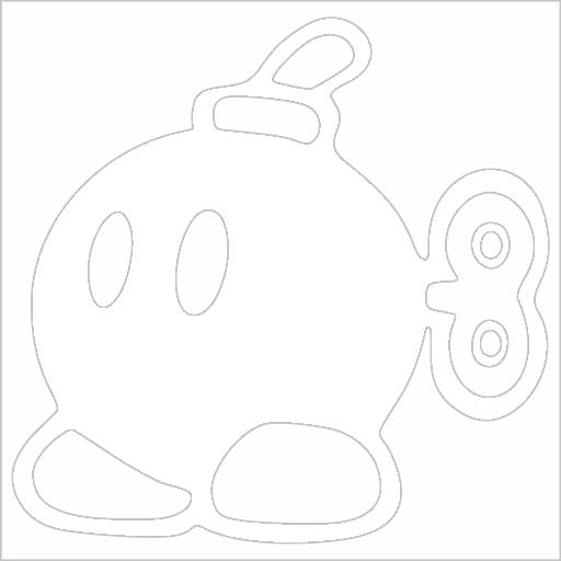 Samolepka Bob Bomb - zvìtšit obrázek