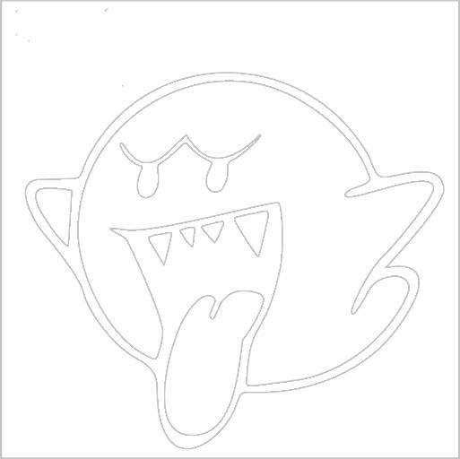 Samolepka Fantasma Boo - zvìtšit obrázek