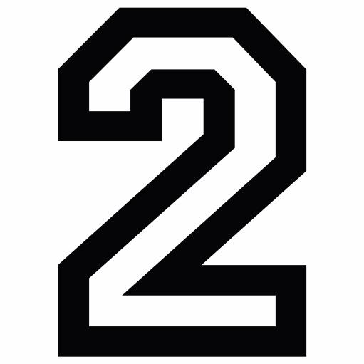 Nažehlovací èíslo na dres - 2 - Allstar - zvìtšit obrázek
