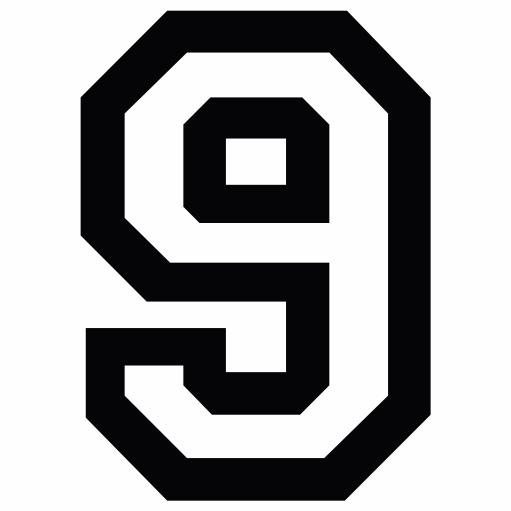 Nažehlovací èíslo na dres - 9 - Allstar