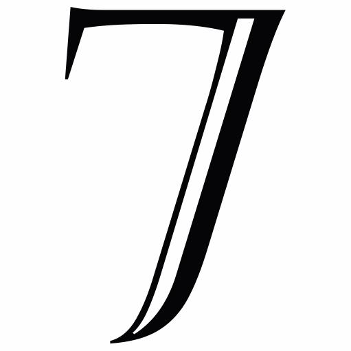 Nažehlovací èíslo na dres - 7 - Castellar