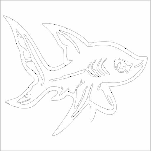 Samolepka Ryba