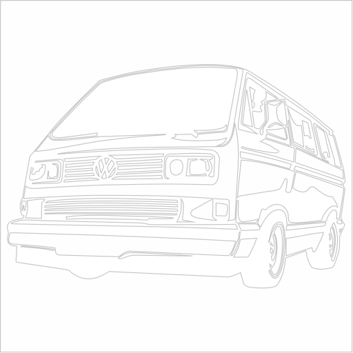 Samolepka VW T3