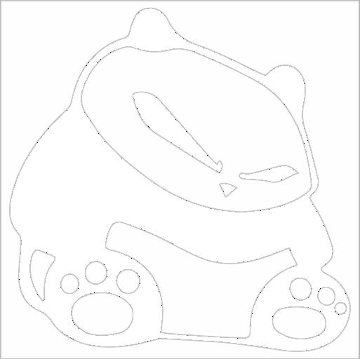 Samolepka JDM Panda