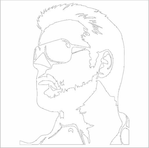 Samolepka George Michael - zvìtšit obrázek