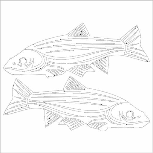 Samolepka Ryby - zvìtšit obrázek