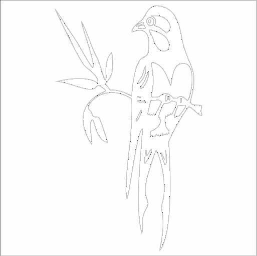 Samolepka Ptáèek