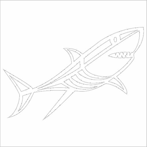 Samolepka Žralok - zvìtšit obrázek