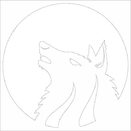 Samolepka Vlk - zvìtšit obrázek