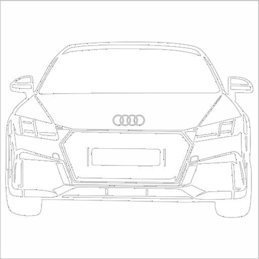 Samolepka Audi TT