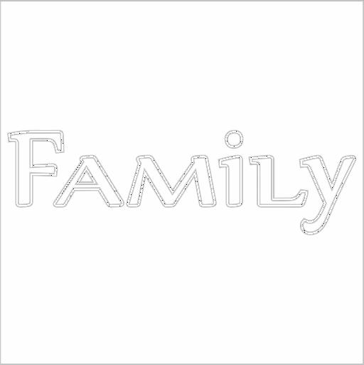 Samolepka Family