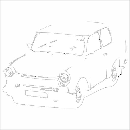 Samolepka Trabant
