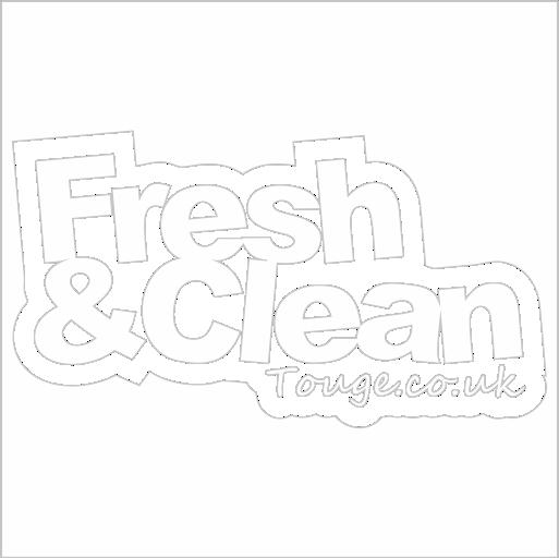 Samolepka Fresh and clean